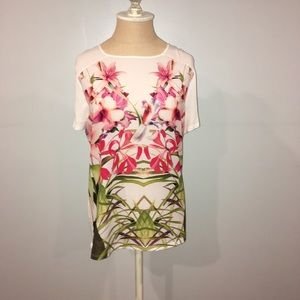 Ted Baker London Floral T-shirt